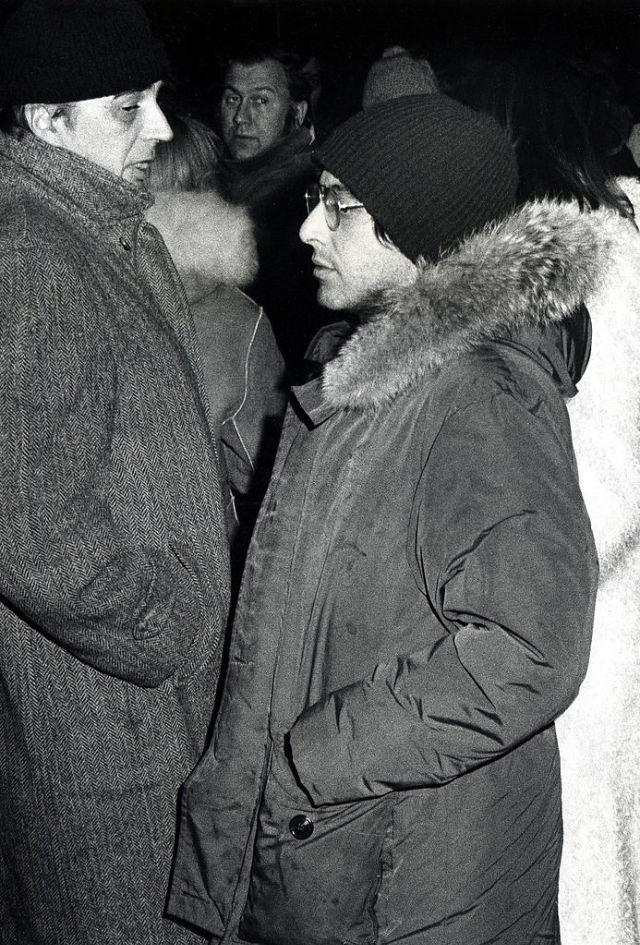 После спектакля «A Moon of the Misbegotten», 1974 год.