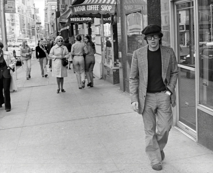 Нью-Йорк, 1977 год.