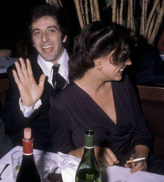 С Кристиной Лахти на премьере фильма «Правосудие для всех» в Нью-Йорке, 1979 год.