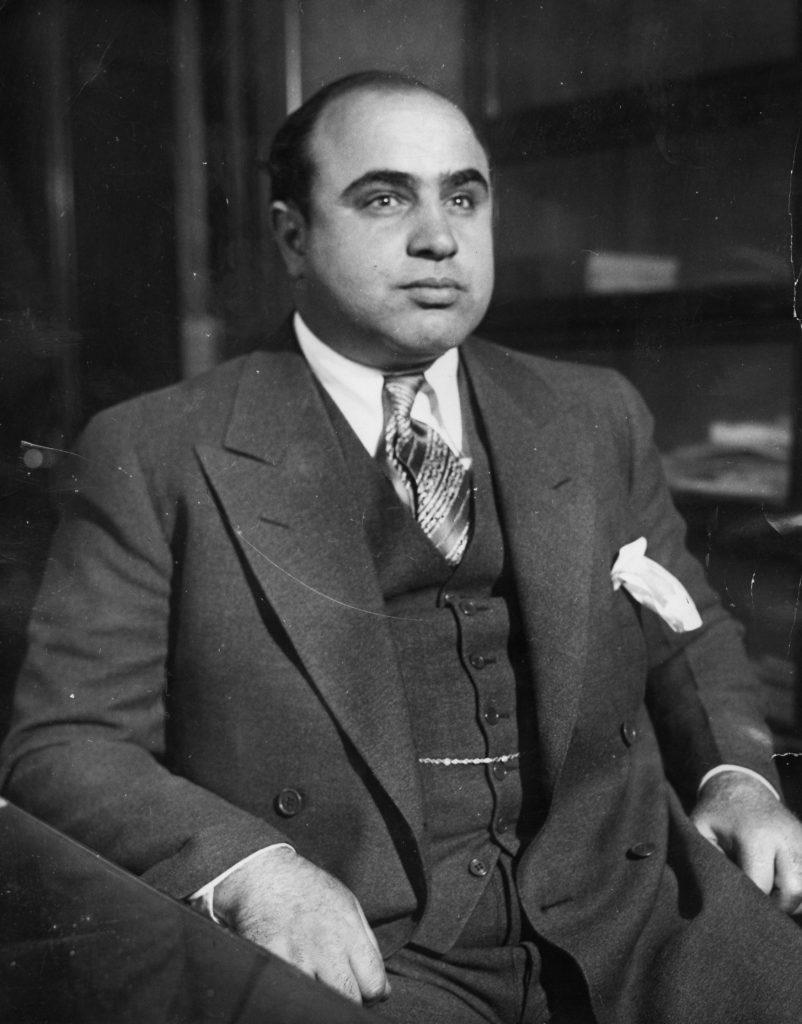 Аль Капоне, портрет 1930 года.