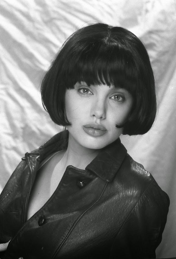 Анджелина Джоли, первая фотосессия, 1991 год