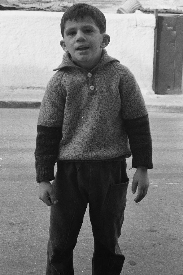 Ребенок, Афины, Греция, 1974.