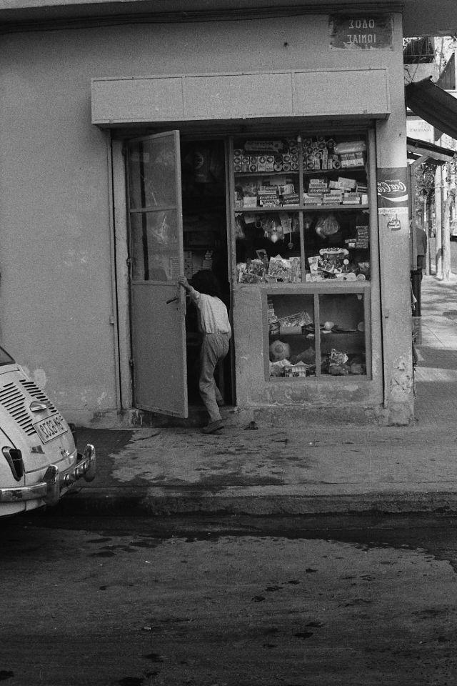 Афины, Греция, 1973 год.