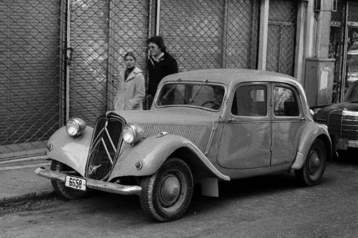 Автомобиль в Афинах, Греция, 1974 год.