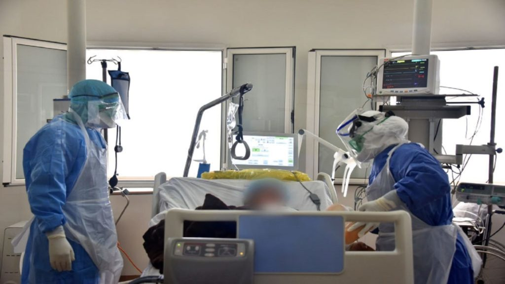 Больница для пациентов с коронавирусом в городе Арьяна на севере Туниса, 12 мая 2020 года.