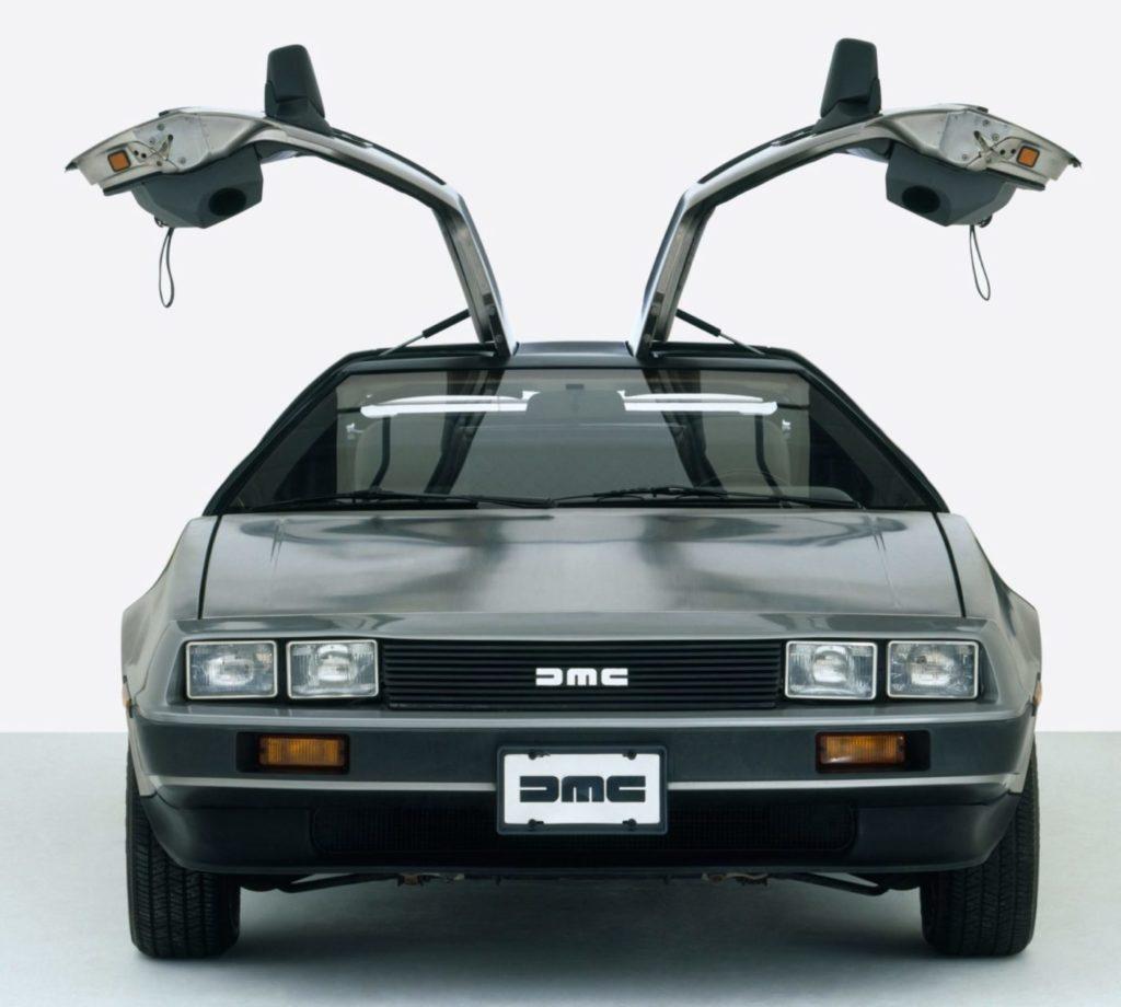 DeLorean DMC-12 - вид спереди, 1981 год.