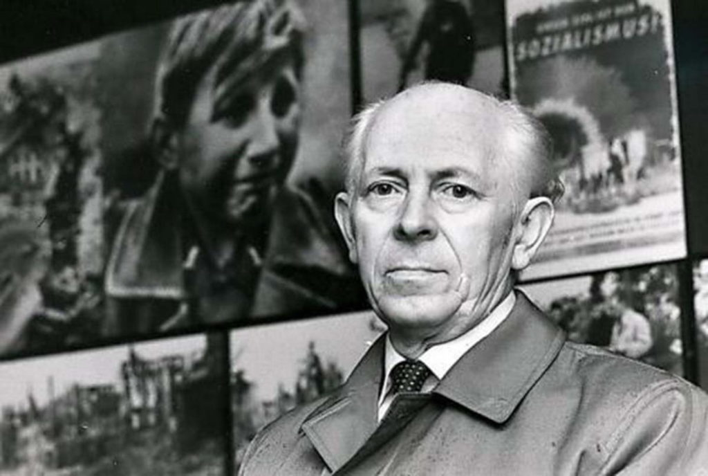 Ганс Георг Хенке в старости