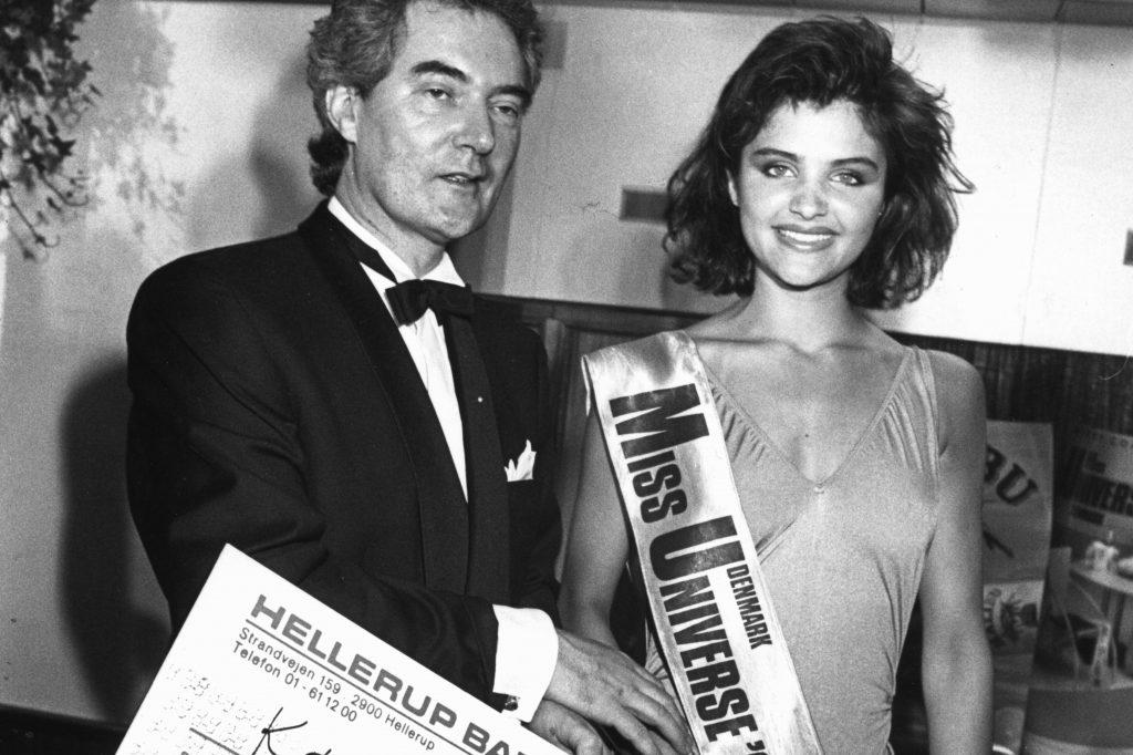 На конкурсе красоты «Мисс Вселенной», 1986 год