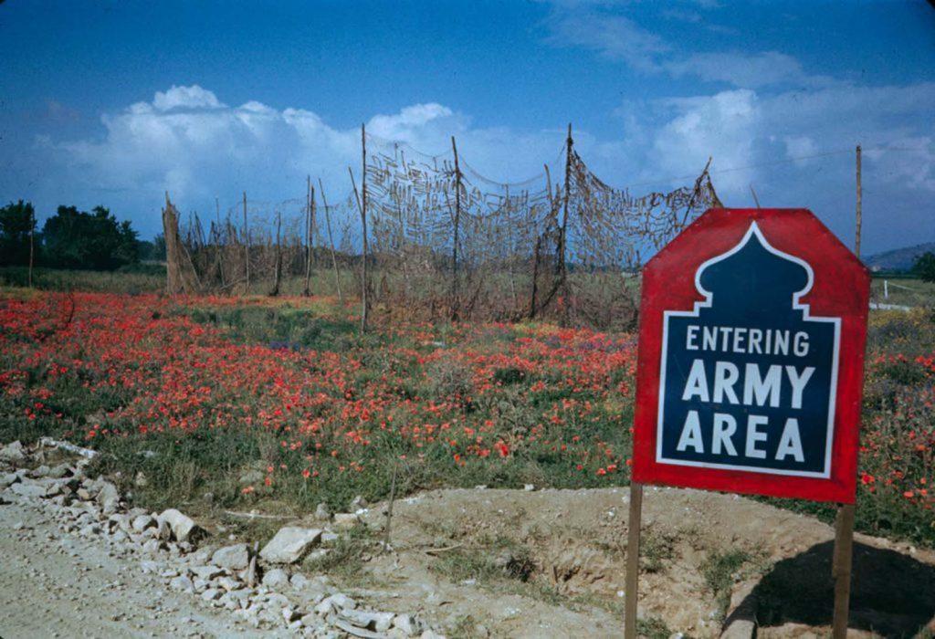 Долина Лири, Итальянская кампания, 1944 год.