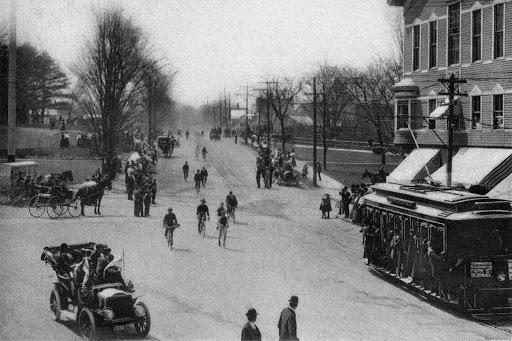 Бостонский марафон в 1906 году (runningpast.com)