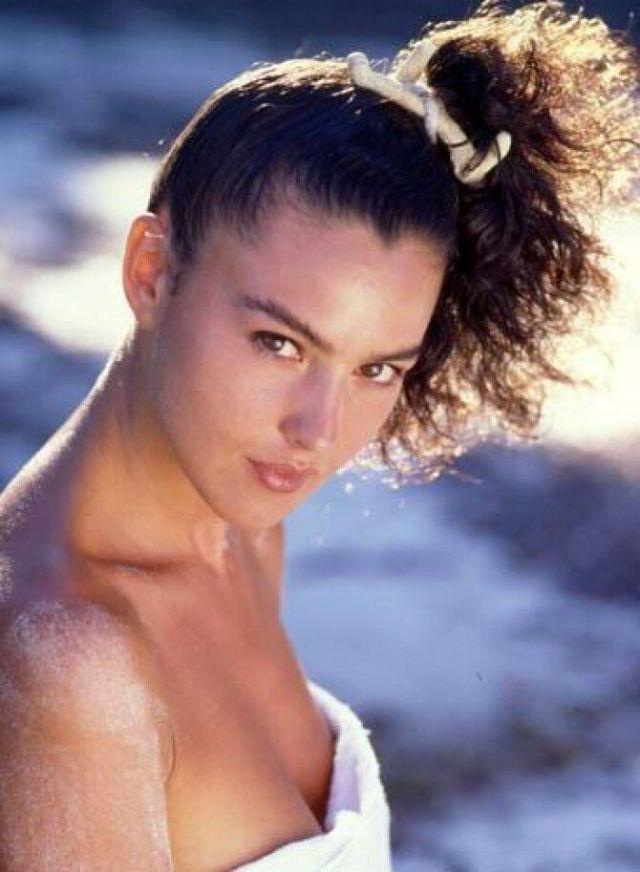 Молодая Моника Беллуччи - фотографии 1980-х