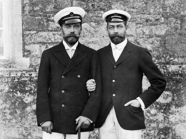 Николай II и Георг V