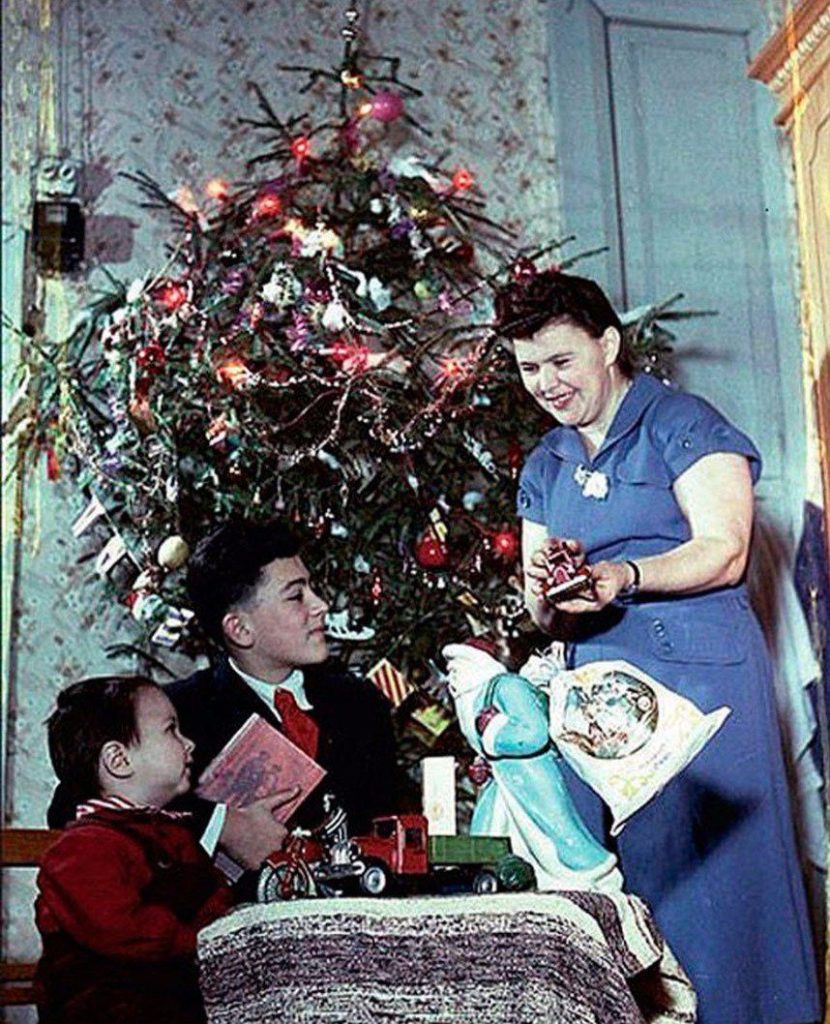 Подарки на Новый год, СССР,