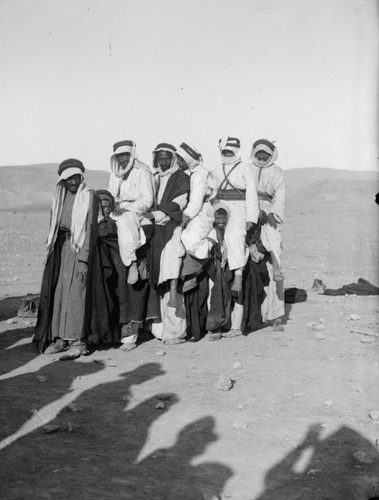 Традиционные забавы бедуинов во время свадьбы, 1898 год.