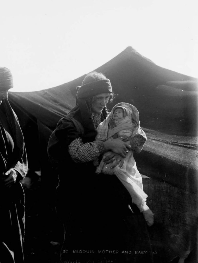 Молодая женщина с ребенком, 1898 год.