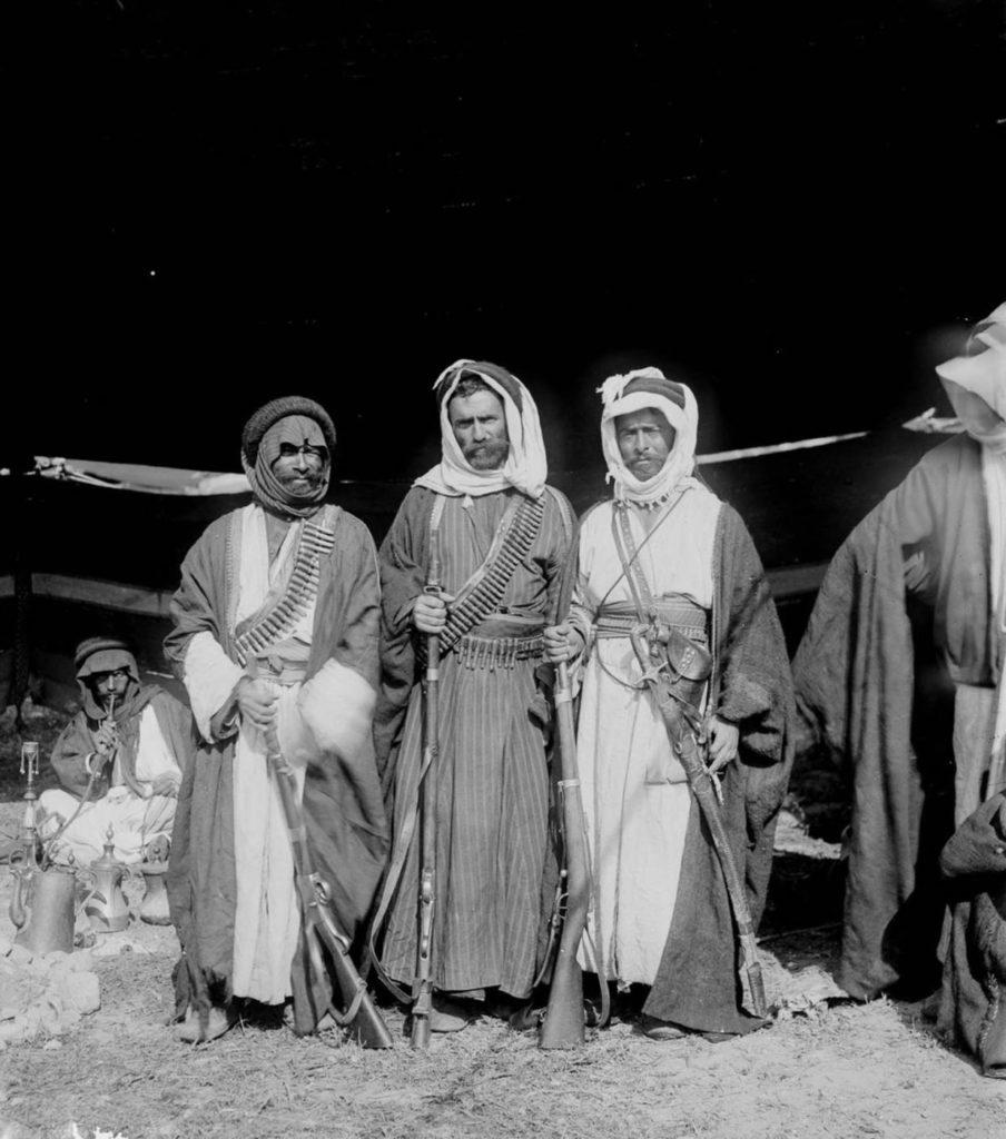 Вооруженные бедуины, 1898 год.