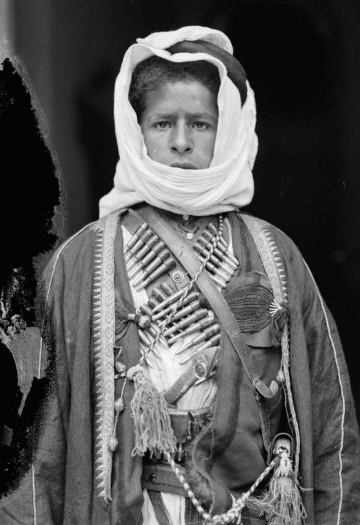 Юноша - бедуин, 1898 год.