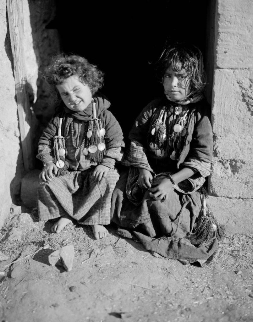 Маленькие дети, 1898 год.
