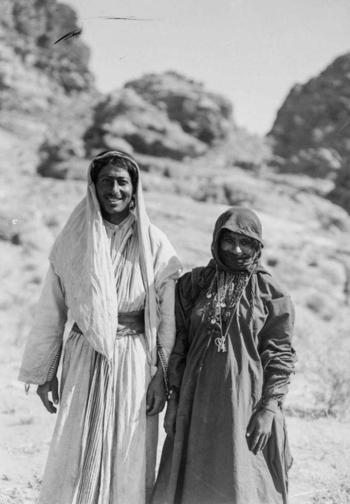 Бедуинская пара, 1898 год.