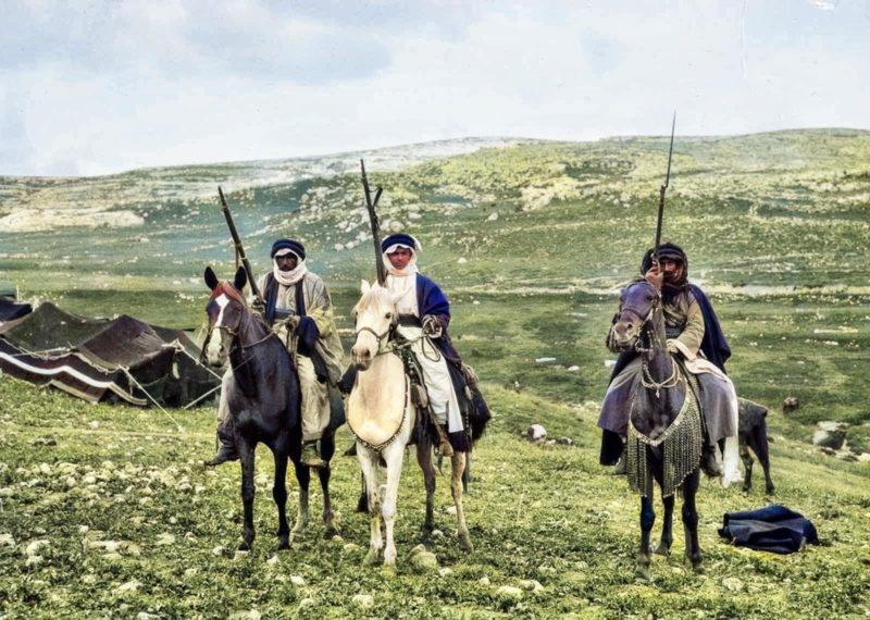 Бедуины - фотографии 1898 года