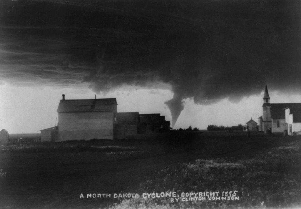 Фотография Клинтона Джонсона, Северная Дакота, 1895 год.
