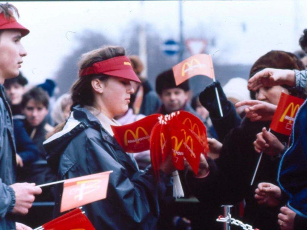 По инициативе московского McDonald's было создано совместное предприятие McDonald's of Canada и Московского городского совета.