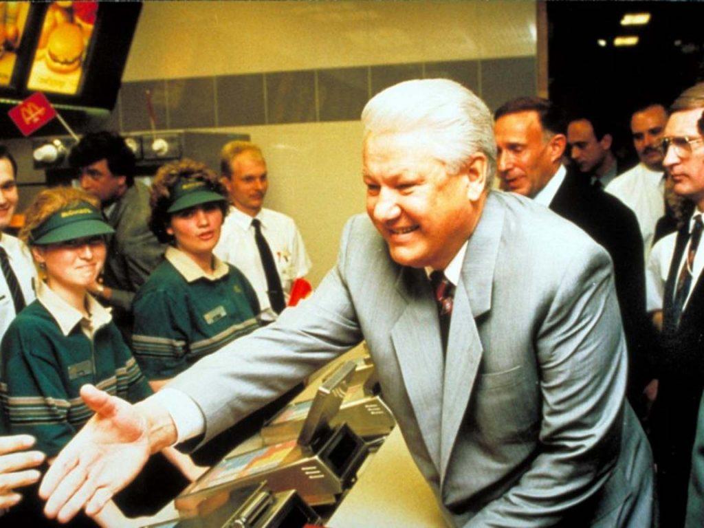 На церемонии открытия второго ресторана в 1993 году даже присутствовал президент Борис Ельцин.