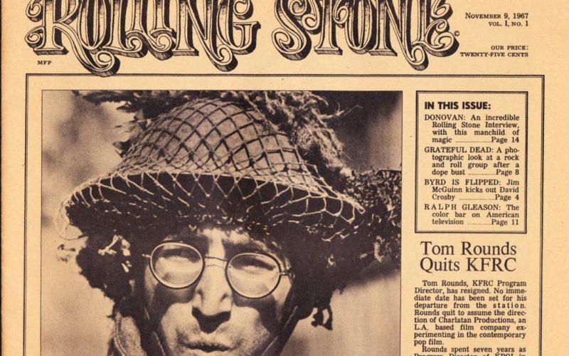 Первый номер журнала «Rolling Stone»