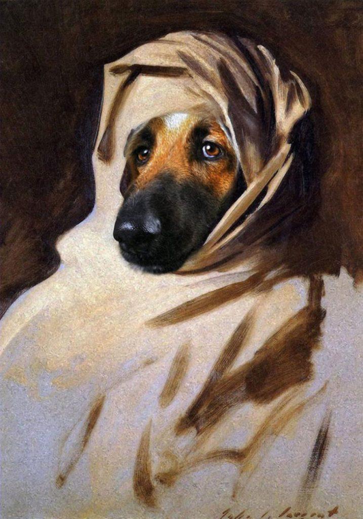 Портреты животных в историческом стиле