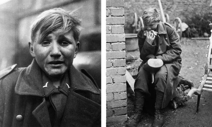 Ганс-Георг Хенке – что случилось с юным плачущим гитлеровцем со знаменитой фотографии