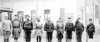 Солдаты Альянса Восьми Держав, 1900 год.