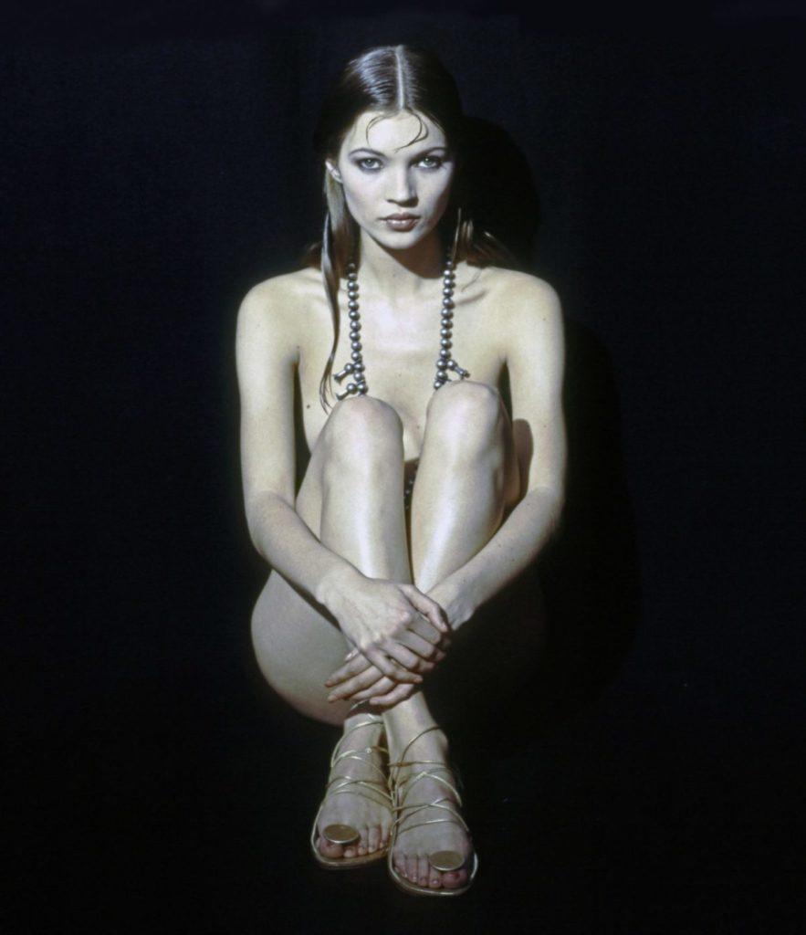 Кейт Мосс - фотография в 1992 году.