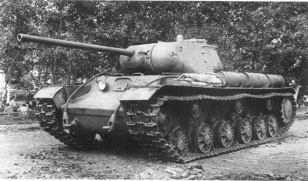 Танк КВ-1С.