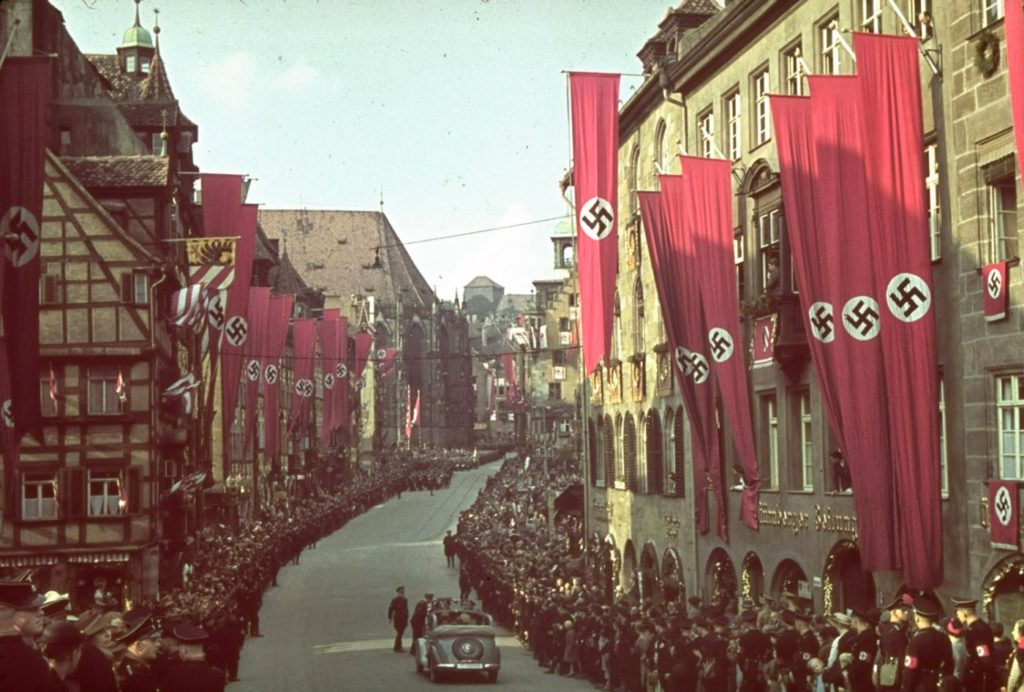 Нюрнберг, Германия, 1938 год.