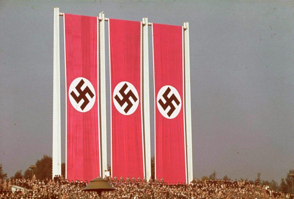Съезд нацистской партии, Нюрнберг, Германия, 1938 год.