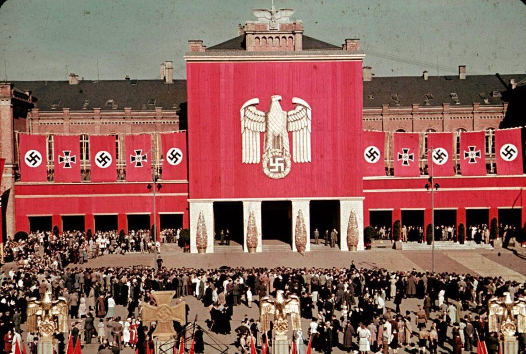 День ветеранов Рейха, 1939 год. Вермахт - редкие цветные фотографии.