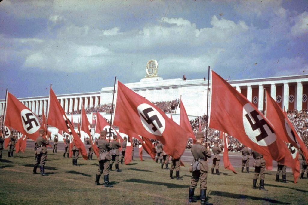 Съезд нацистской партии, Нюрнберг, Германия, 1937 год.