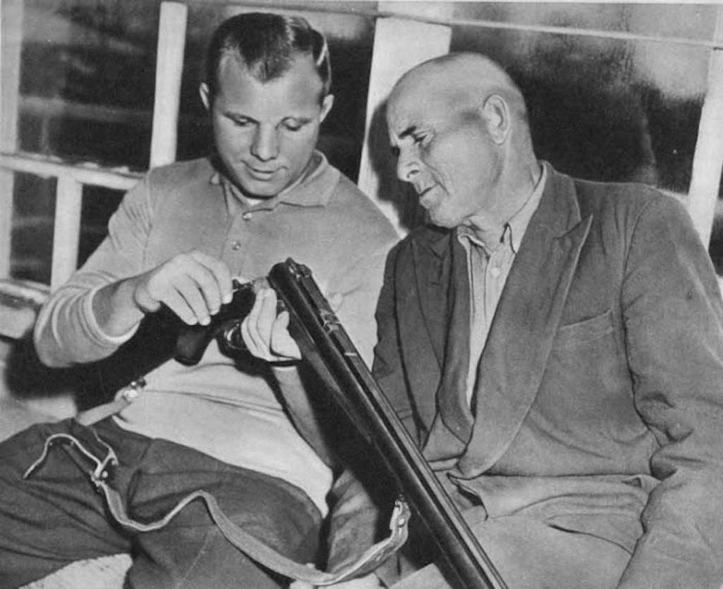 Отец и сын Гагарины, 1966 год.
