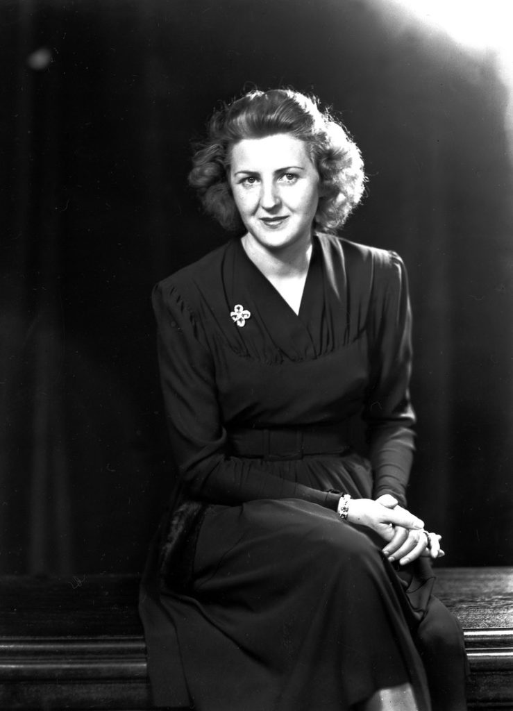 Ева Браун – жена Адольфа Гитлера.
