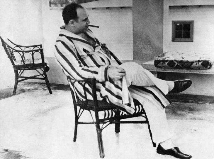 Аль Капоне провел большую часть своих последних лет в халате. Источник: Ullstein Bild/Getty Images