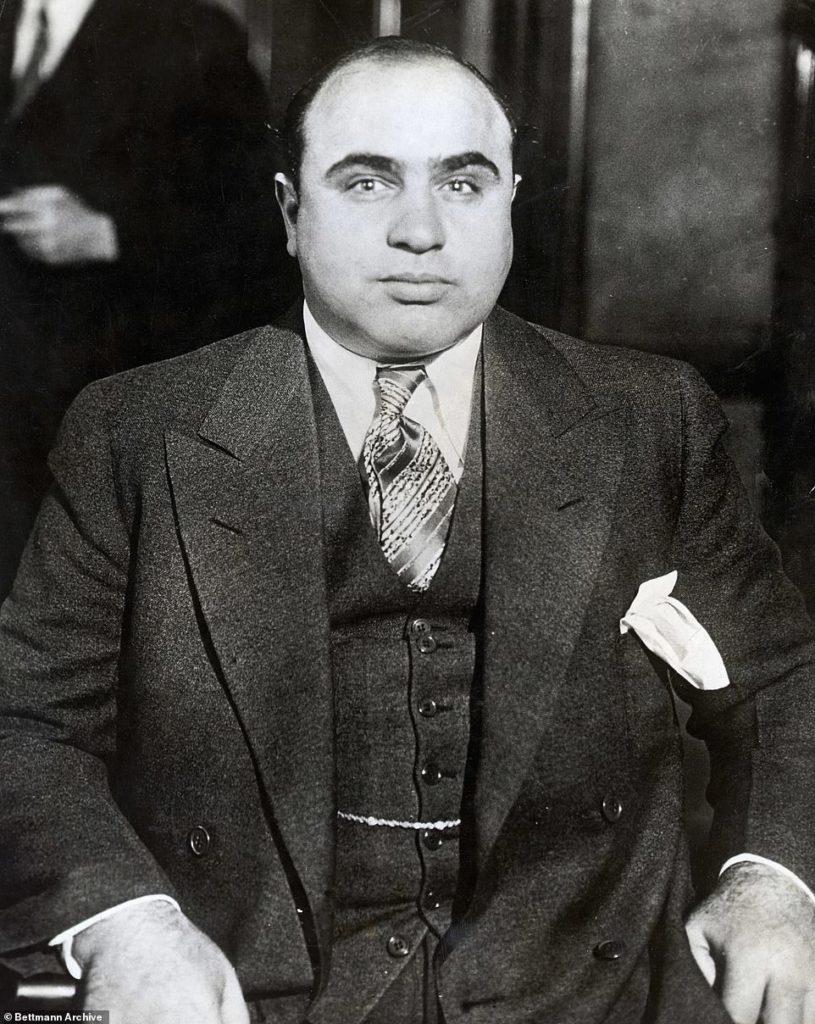 Взгляд Аль Капоне. Источник: Bettmann / Getty Images