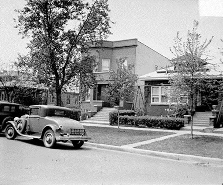 Дом Аль Капоне в Чикаго, 1929 год.