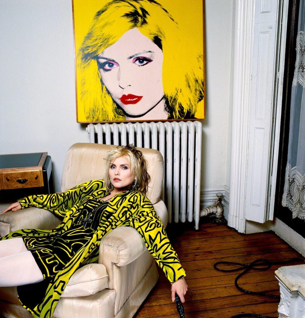 Дебби Харри, апартаменты Нью-Йорк, 1982 год.
