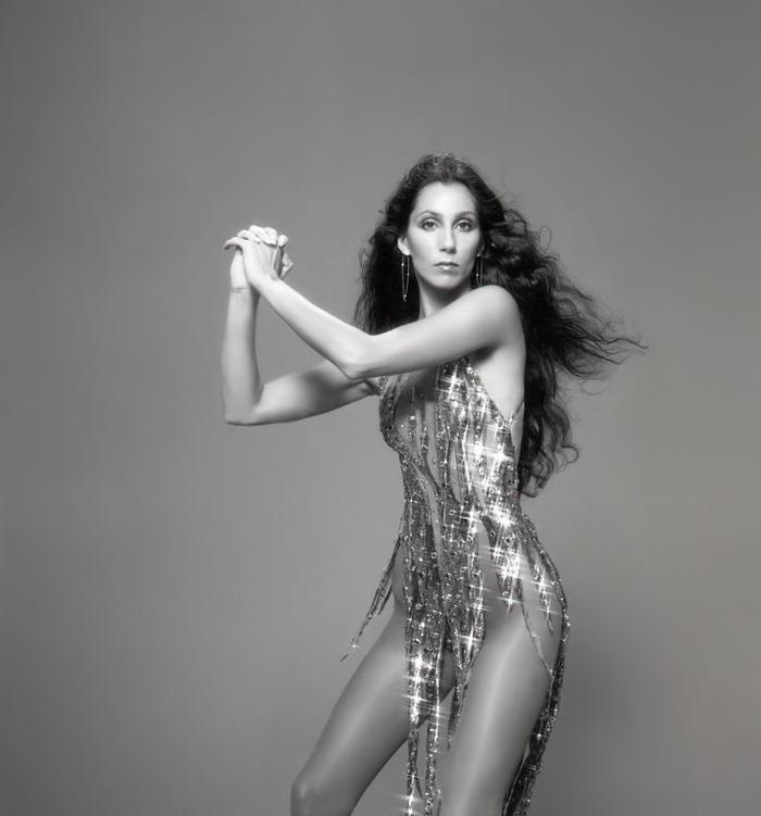 Великолепные фотографии Шер, фотограф Гарри Лэнгдон, 1978 год