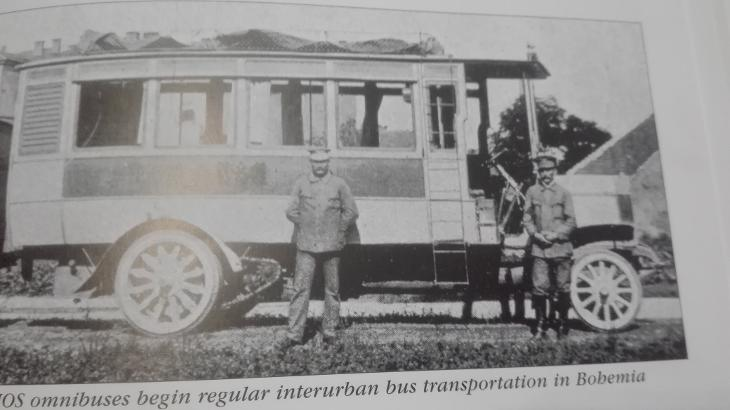 Автобус Laurin & Klement HOS, Чехия, 1908 год.