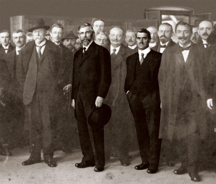 Вацлав Лаурин и Вацлав Клемент, основатели Laurin & Klement.