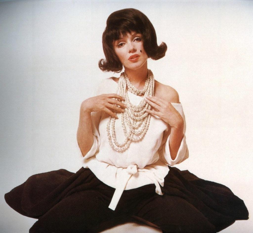 Мэрилин в образе Жаклин Кеннеди, фотосессия 1962 года
