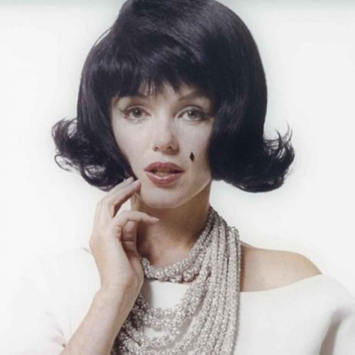 Мэрилин Монро в образе Жаклин Кеннеди, 1962 год.