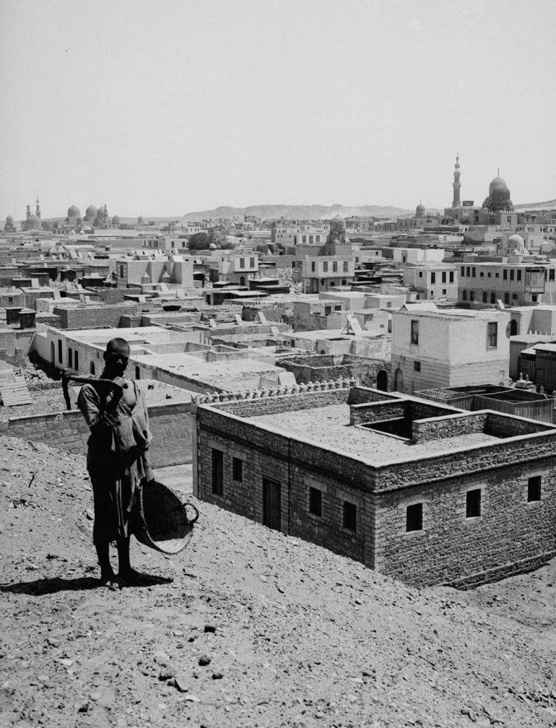 Город мертвых, Каирский некрополь в юго-восточном Каире. 1900 год. Источник: Library of Congress
