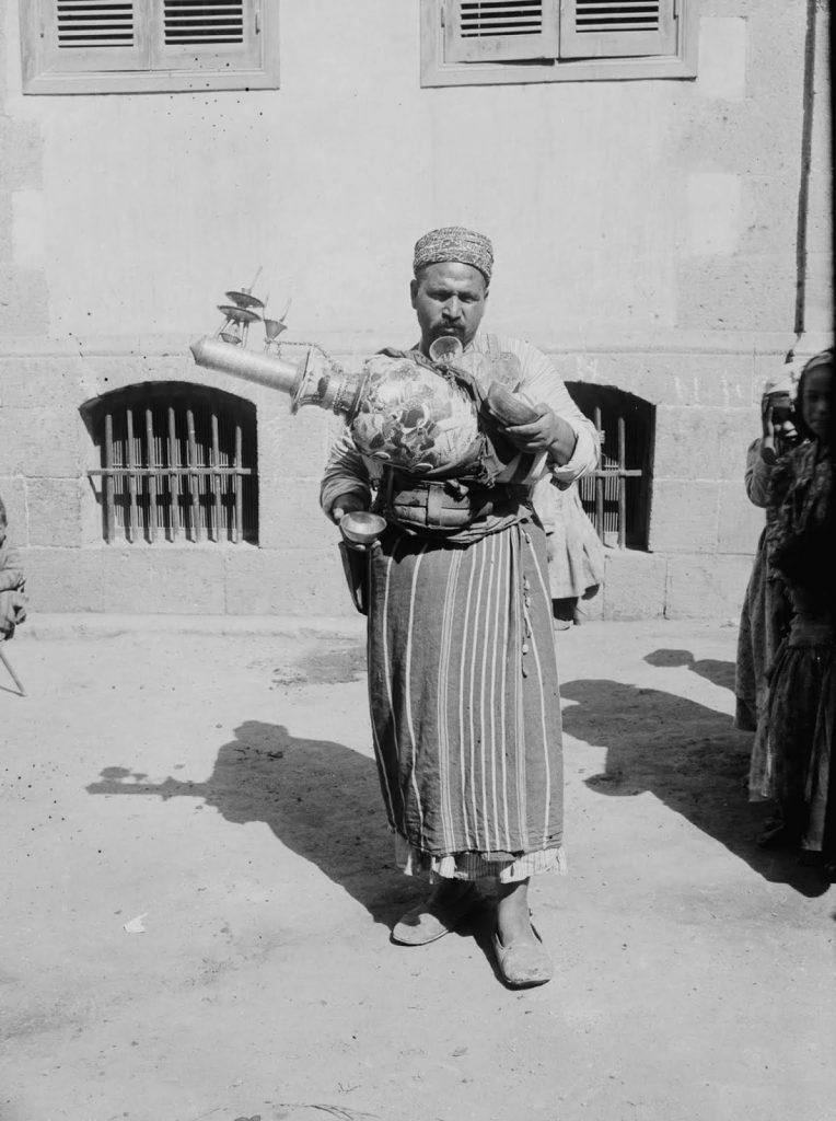 Продавец лимонада, 1900 годы.Источник: Library of Congress